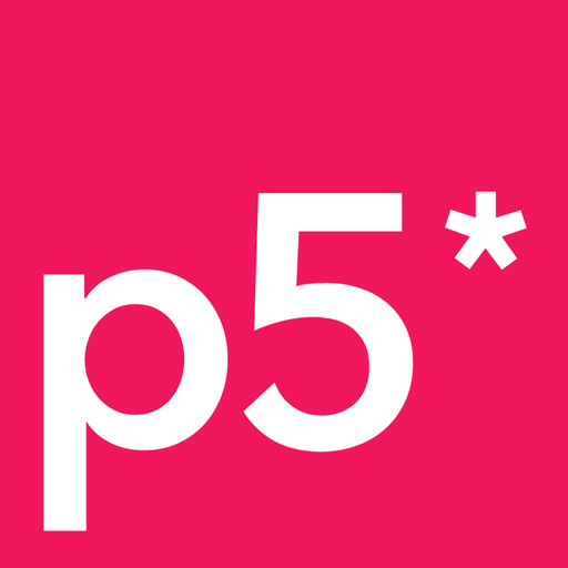 Logo of the p5.js project